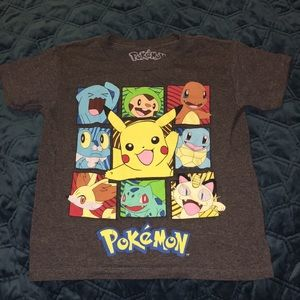 Kids Pokémon tee shirt